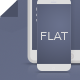 Flat Mockups - Phone 6 and Pad Mini - GraphicRiver Item for Sale
