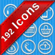icons  Online shopping  Financial - GraphicRiver Item for Sale