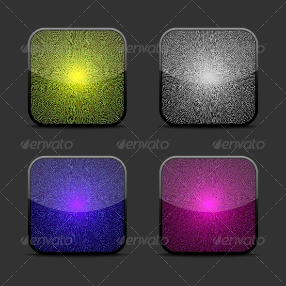 GraphicRiver Collection of Glow Icon Templates 5560532