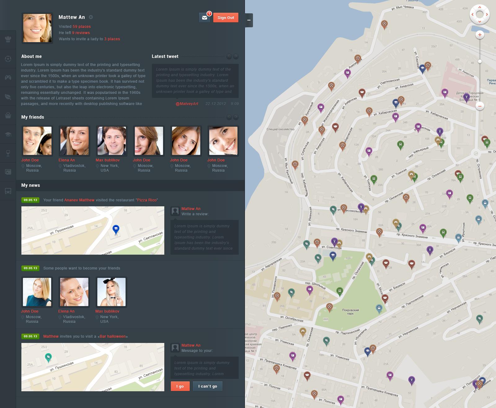 GeoMetry –HTML version