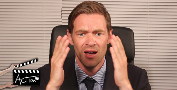 VideoHive Businessman Getting Mad 5560550