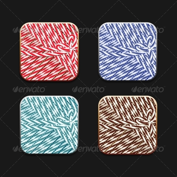 GraphicRiver Collection of Icons in Twine Stile 5560620