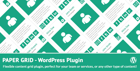 Paper Grid Team Services and Content Grid