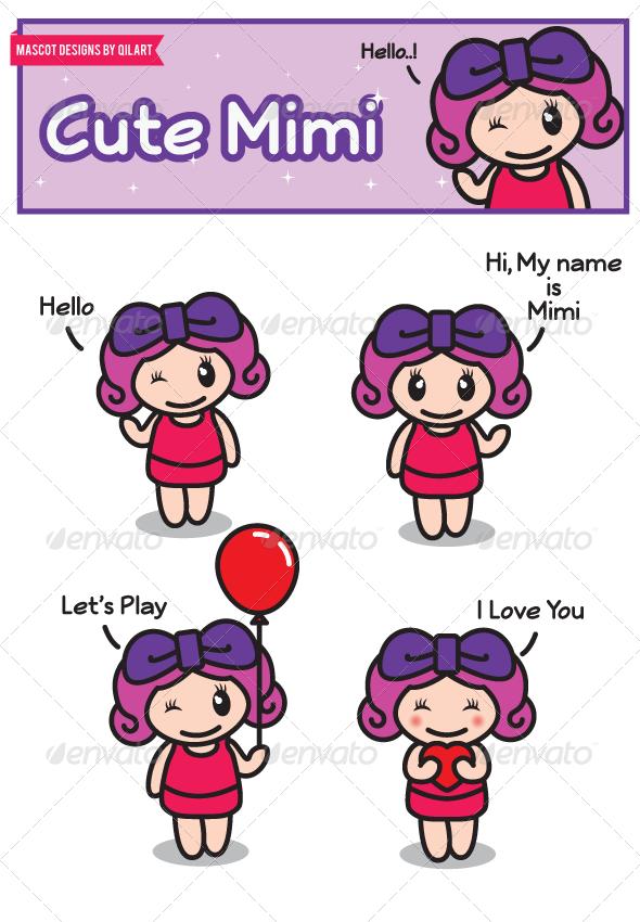 GraphicRiver Mimi Mascot 5551499