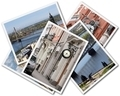 Collage of photos of Riga Latvia isolated on the white background - PhotoDune Item for Sale