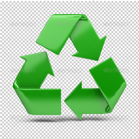 GraphicRiver recycling symbol 5562060
