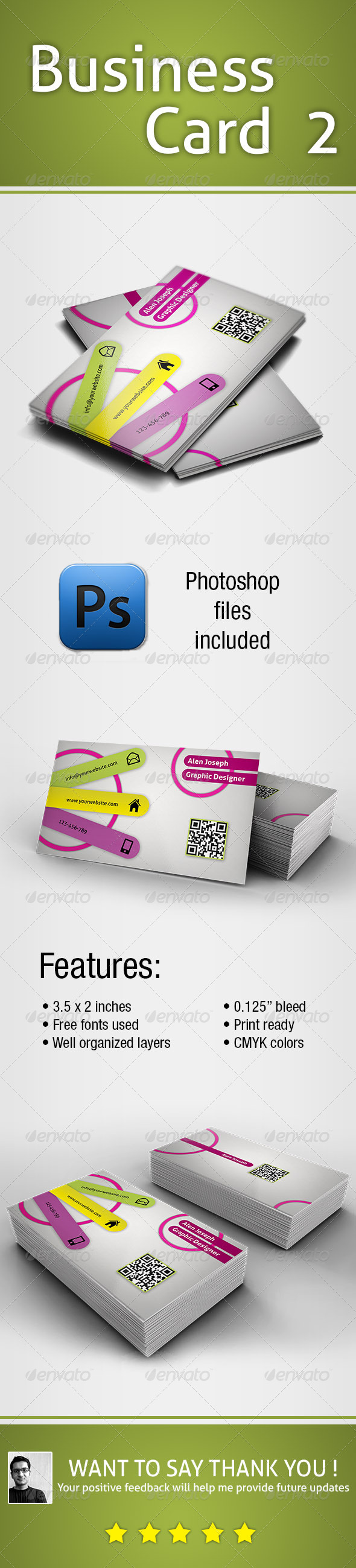 GraphicRiver Business Card 2 5562068