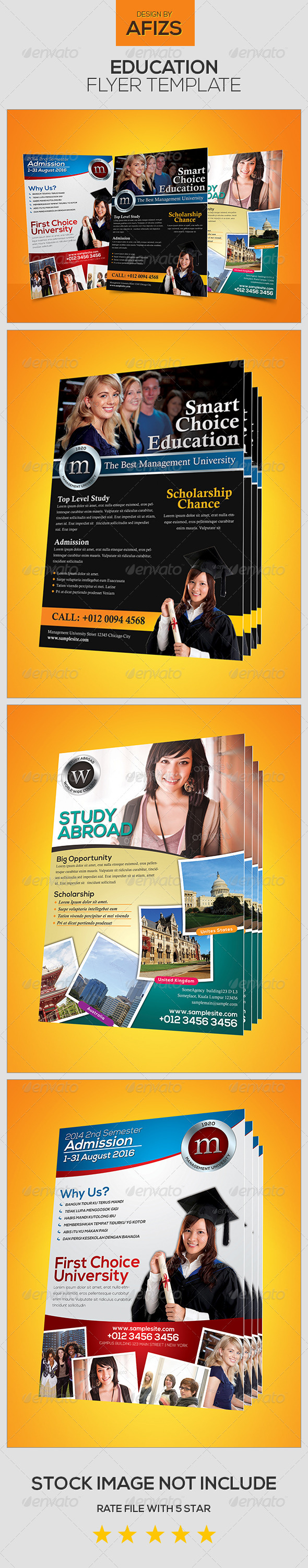 GraphicRiver Education Flyer 5562087