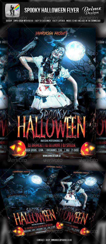 Spooky Halloween Flyer