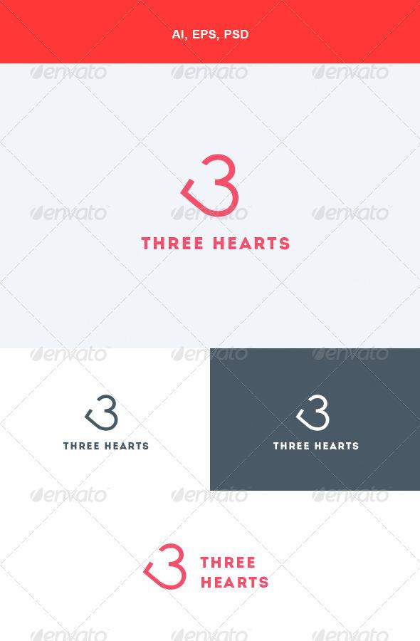 Logotipo Corazón para Blogs de Amor.