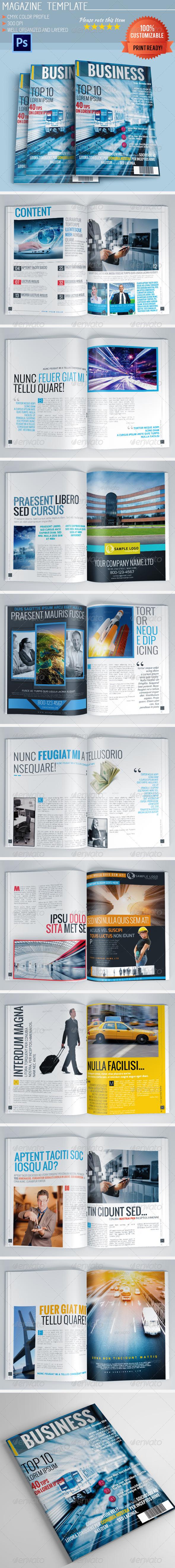 GraphicRiver Corporate Magazine Template Vol.2 5562371