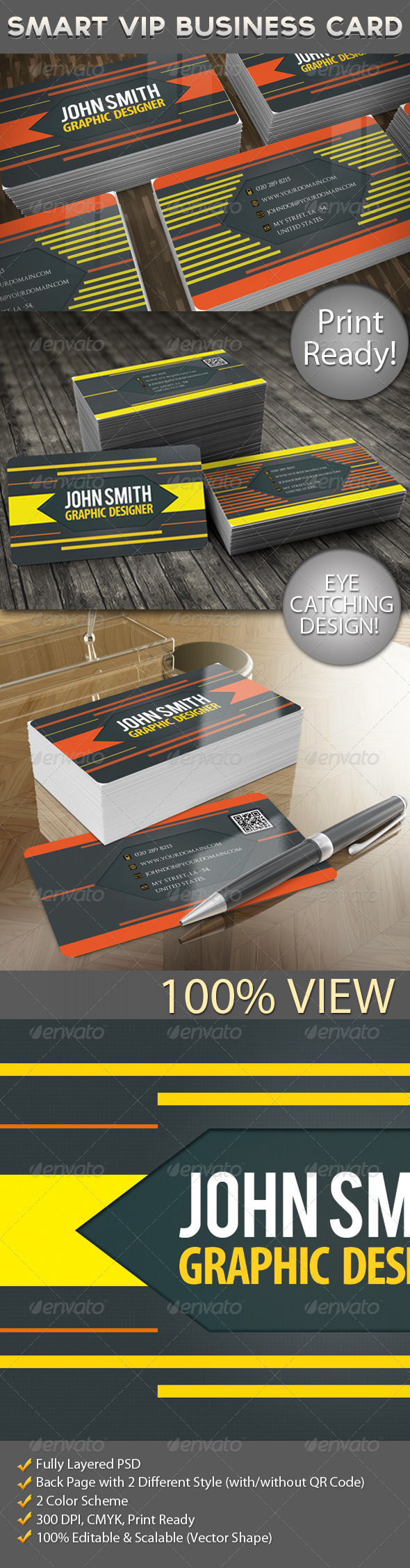 GraphicRiver Smart VIP Business Cards 5496419