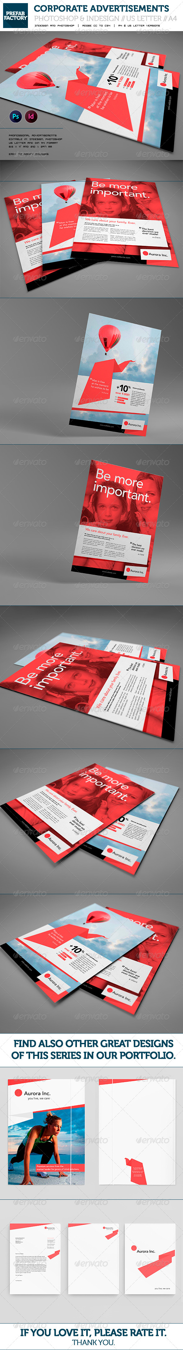 GraphicRiver Corporate Flyers Advertisement Multipurpose 5562542