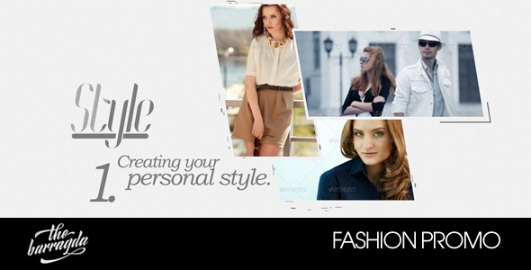Fashion Promo After Effects Template Videohive 5517074 After Effects Project Files