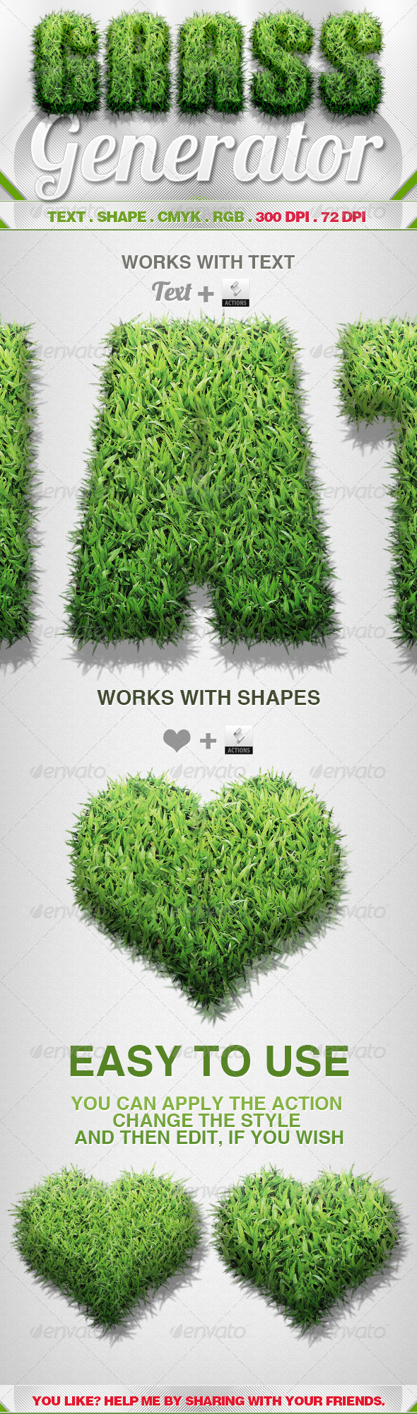 GraphicRiver Grass Generator 5562750