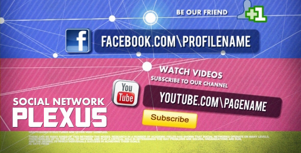 After Effects Project - VideoHive Social Network 541831