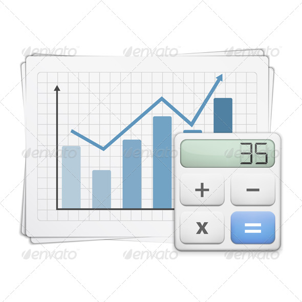 GraphicRiver Finance Graph and Calculator 5562909