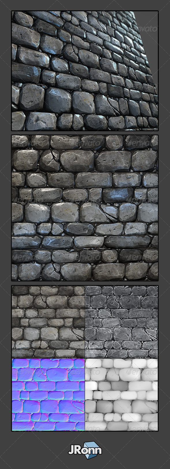 3DOcean Stone Wall Tile 03 5563048