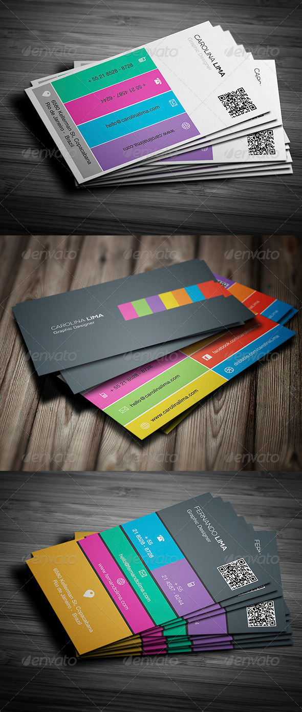 GraphicRiver Creative Business Card Bundle Vol 1 5563183