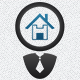 House Search Logo - GraphicRiver Item for Sale
