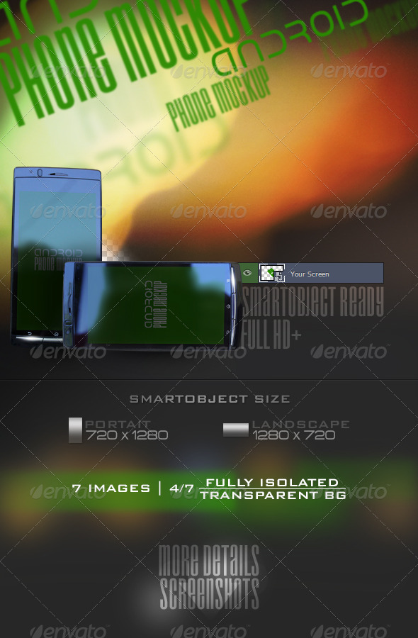 GraphicRiver Phone Mockup V1 5563371