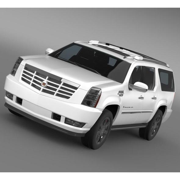 Cadillac Escalade ESV - 3DOcean Item for Sale