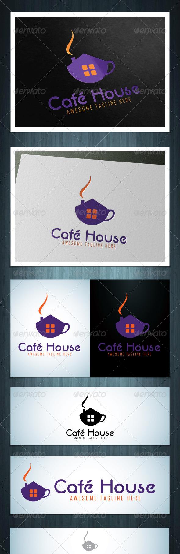 GraphicRiver Cafe House 5563392