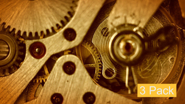 VideoHive 3 Pack Watch Close-up 5563427