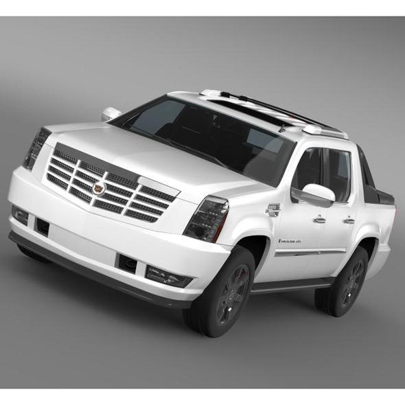 3DOcean Cadillac Escalade EXT 5563431