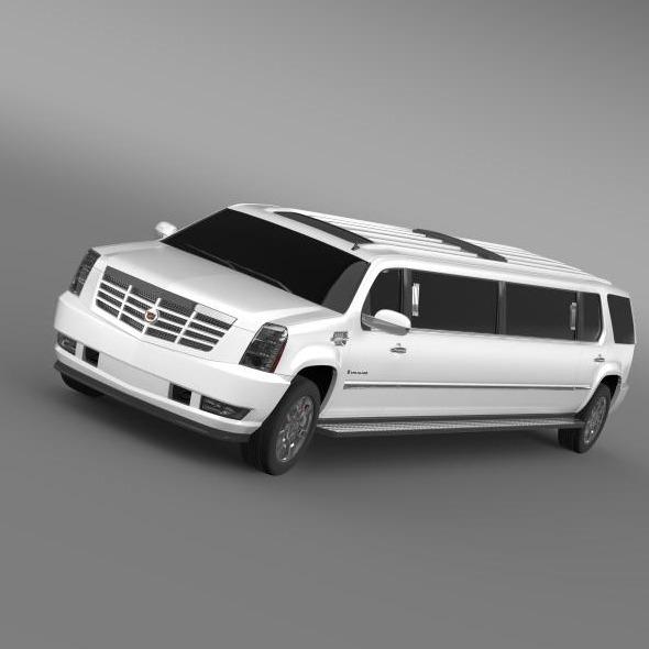 3DOcean Cadillac Escalade Limo 5563447