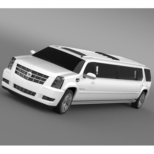 3DOcean Cadillac Escalade limo 2013 5563450