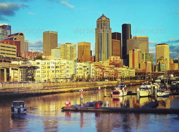 Seattle - Stock Photo - Images