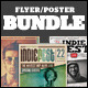 Indie Flyers/Posters Bundle - GraphicRiver Item for Sale