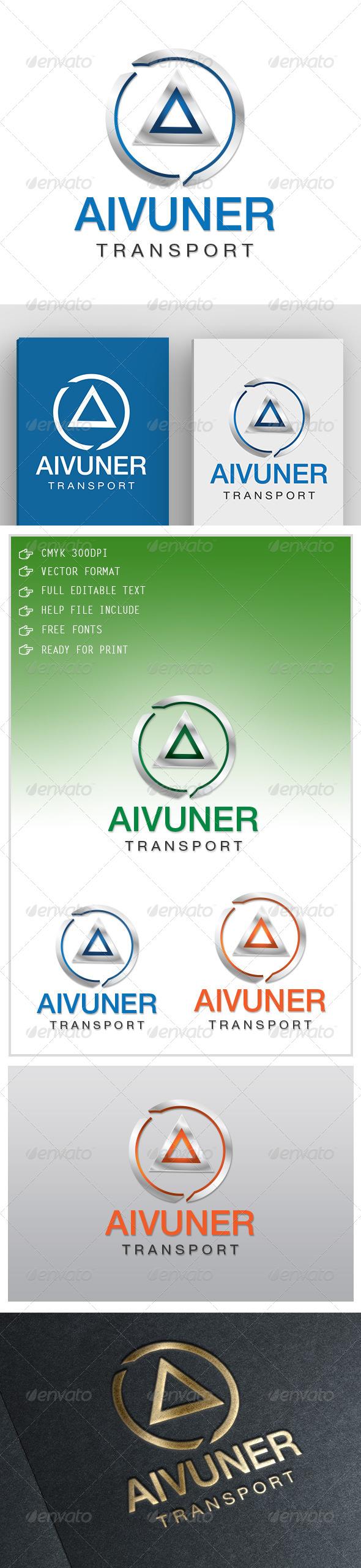 GraphicRiver Aivuner Transport Logo 5564314