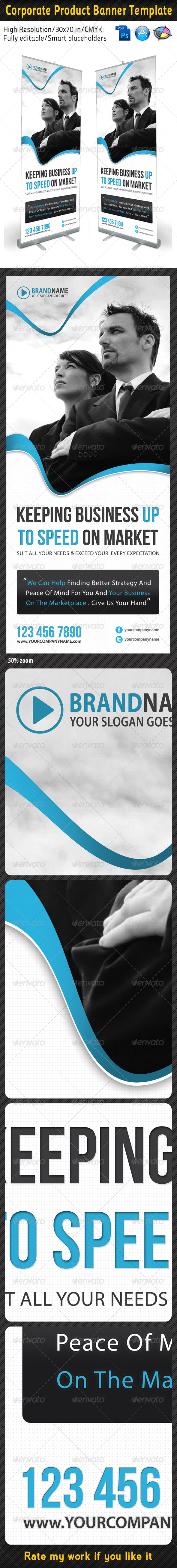Corporate Multipurpose Banner Template 06 - Signage Print Templates