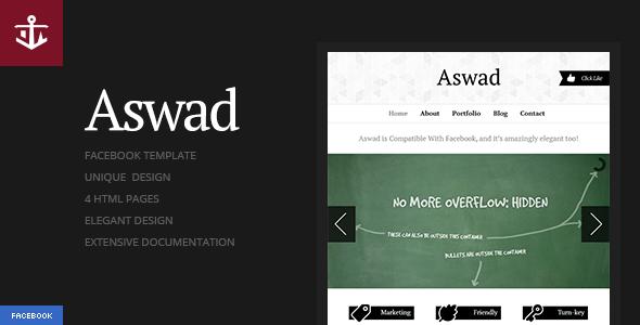 Aswad | Facebook Template