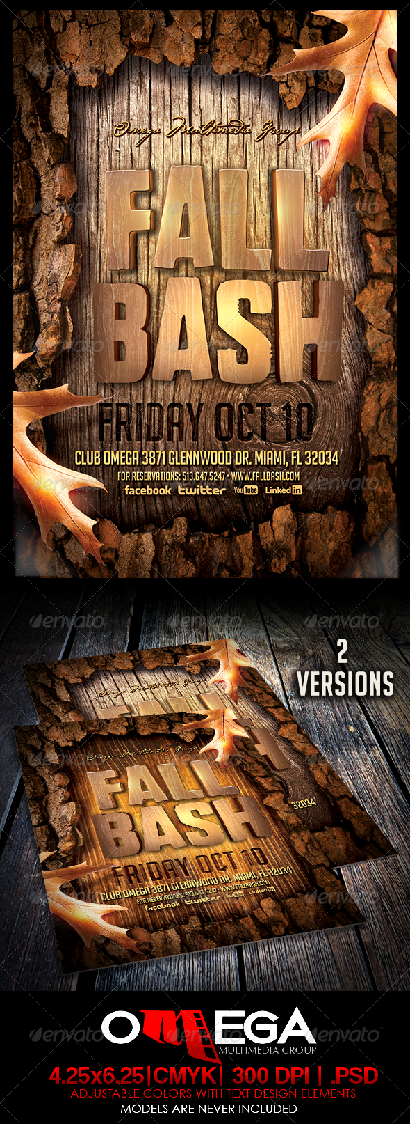 GraphicRiver Fall Bash 5564967