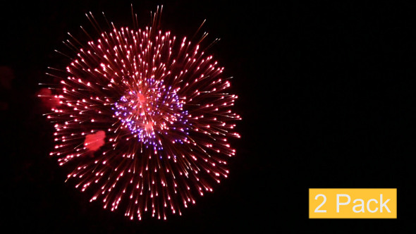 VideoHive Firework Volleys 2-Pack 5565711