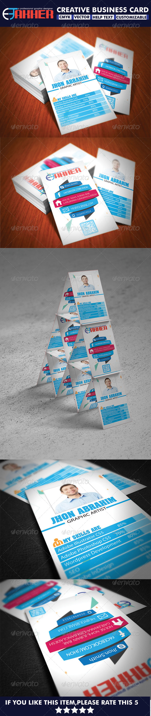 GraphicRiver Creative Business Card 5521015