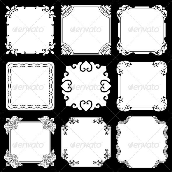 GraphicRiver Decorative Frames 5565870