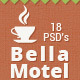 Bella - Restaurant & Bakery PSD - Restaurants & Cafes Entertainment