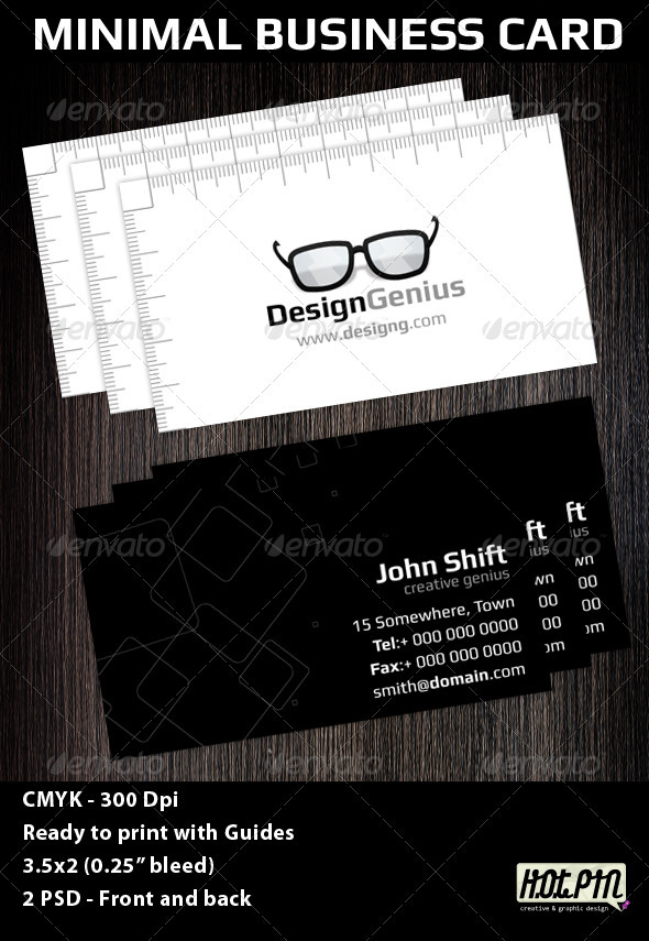 Minimal Creative Business Card Template - Creative Business Cards