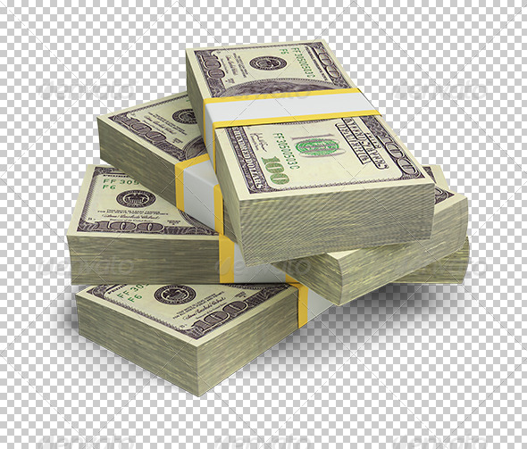 GraphicRiver Wads of Dollars 5566946