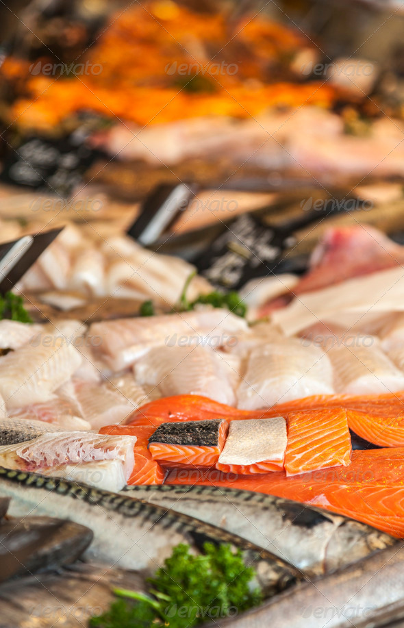 Fish Meat  - Stock Photo - Images