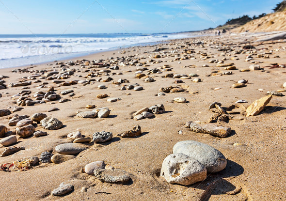 Rocky Beach - Stock Photo - Images
