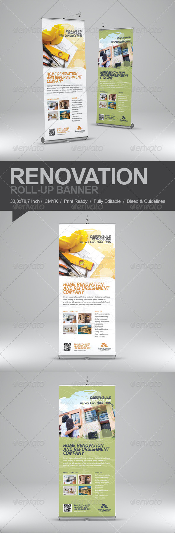 GraphicRiver Renovation Roll-Up Banner 5567566