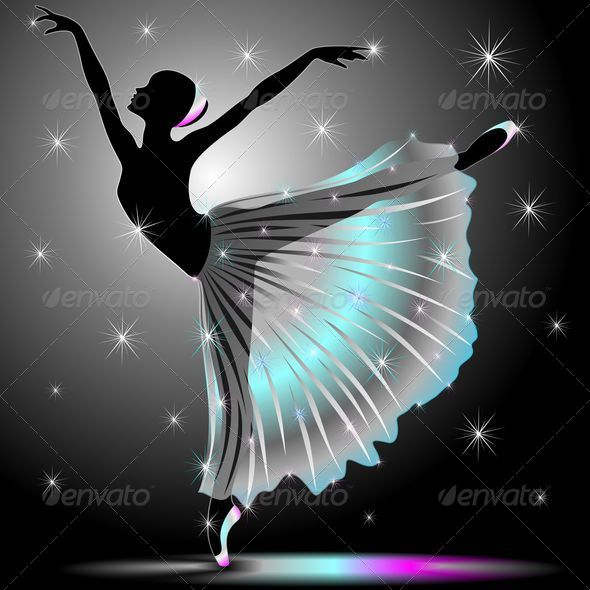 GraphicRiver Classical Dancer Graceful Ballerina 5567569