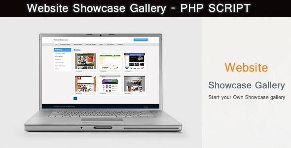 CodeCanyon Website Showcase Gallery PHP Script 5567573