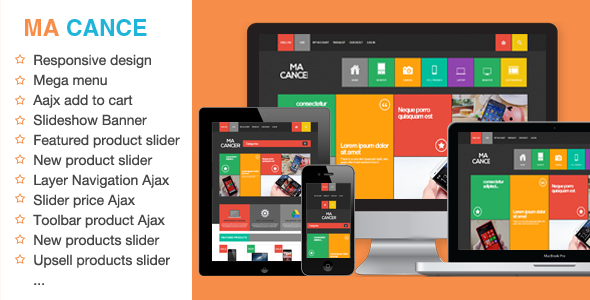 ThemeForest MA CANCE Metro Responsive Magento Theme 5560322