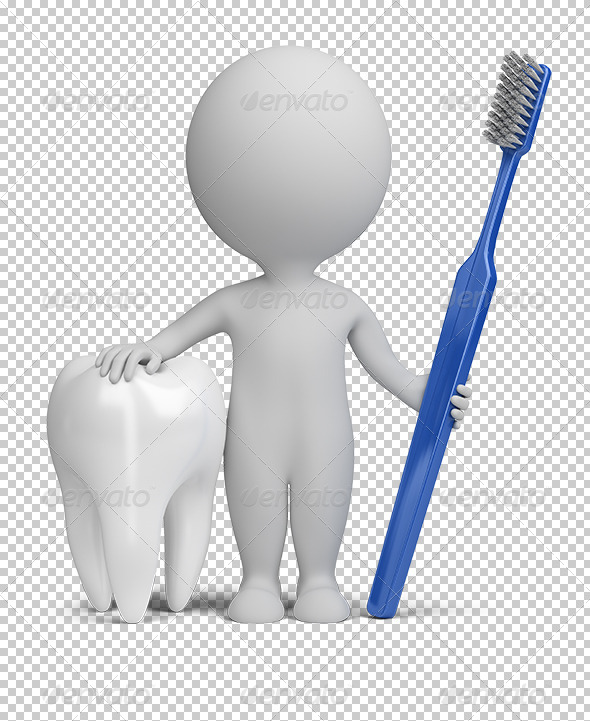 GraphicRiver 3D small people dentist 5567614
